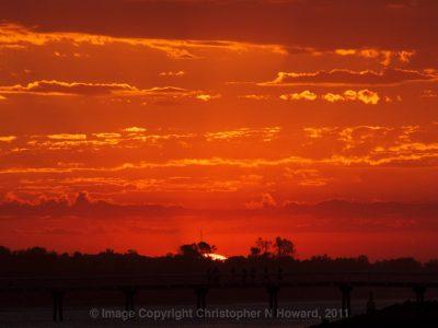 Blazing-sunset